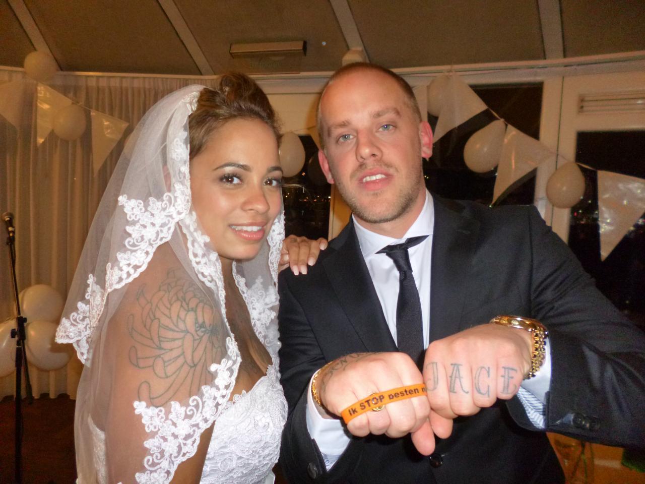Tim Kimman zegt Ik STOP pesten nu op zijn bruiloft met Marissa