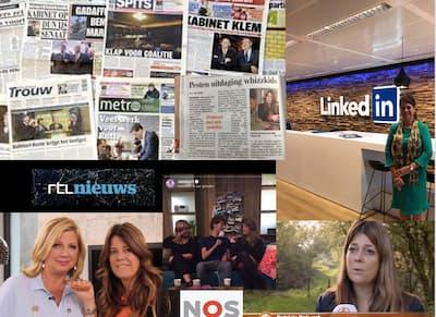 Geïnterviewd door de Landelijke media: Tv, kranten, radio, magazines