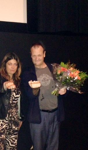 Regiseur Dave Schram zegt: Ik STOP pesten nu! met oranje bandje tegen pesten