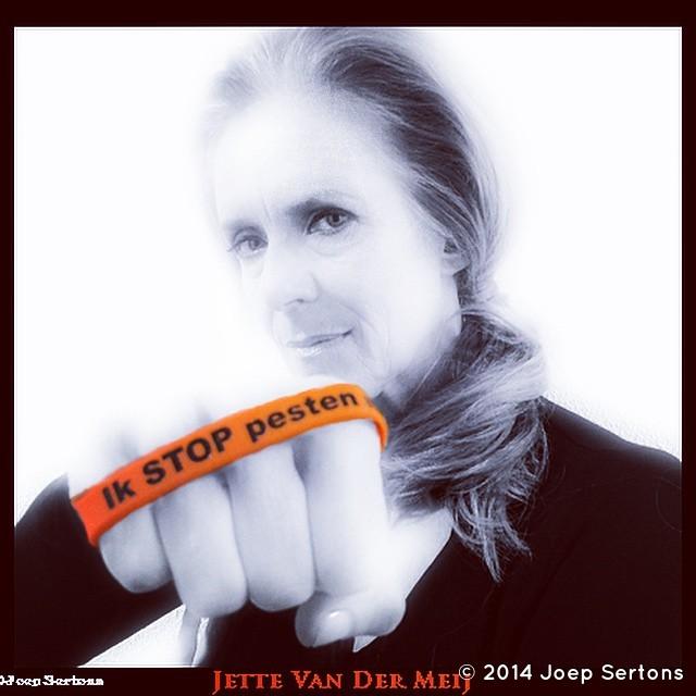 Joep Sertons @JoepSertons · 17 okt. Dag 12: Jette van der Meij. Elke dag een andere collega. @stoppestennu @gtst_rtl #gtst @gtst5000 met oranje bandje tegen pesten