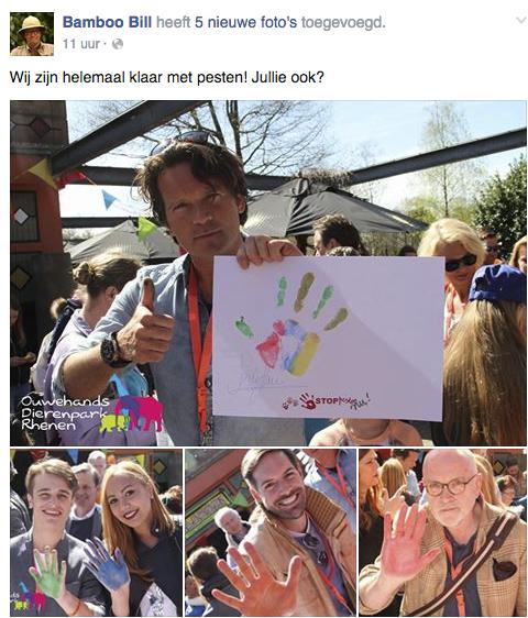 Bamboo Bill is tegen pesten RTL 4 Jungleclub Telekids