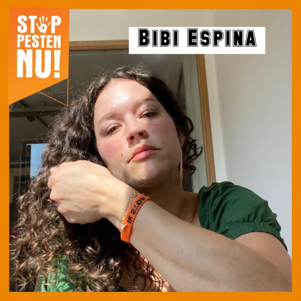 Bibi Espina zegt Ik STOP pesten nu!
