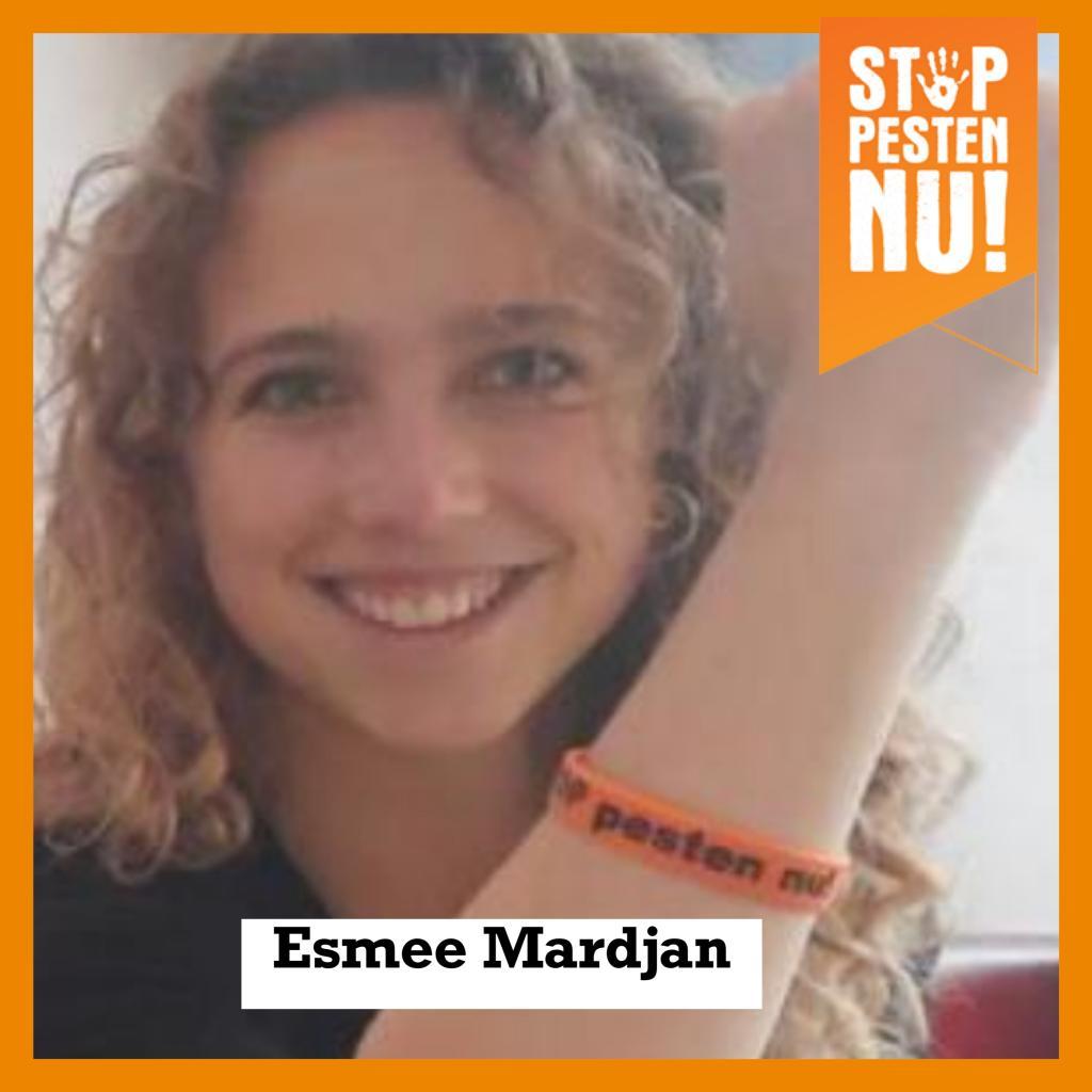Esmee Mardjan zegt Ik STOP pesten nu
