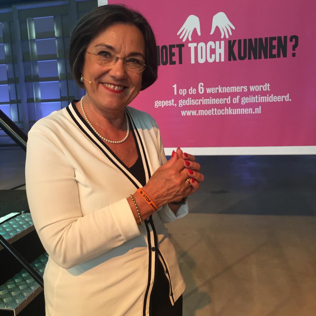 Gerdi Verbeet zegt Stop Pesten Nu