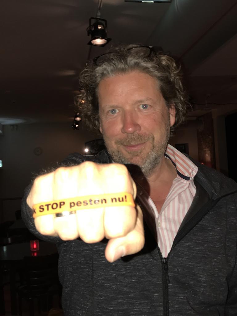 Henkjan Smits zegt Ik STOP pesten nu!