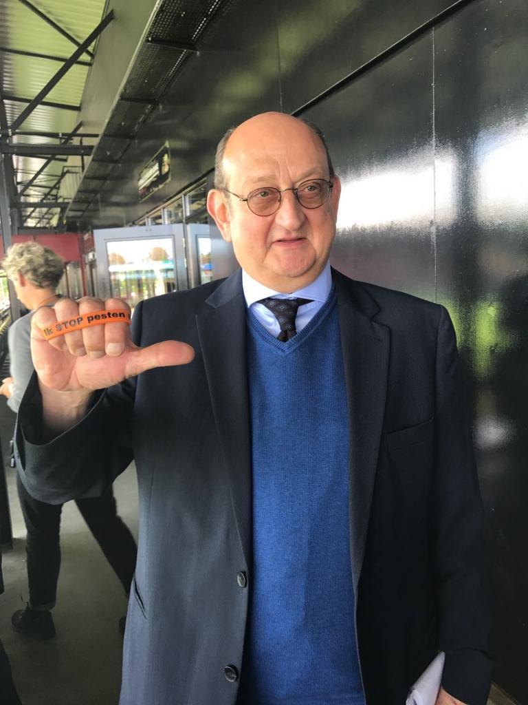 Jappe Claes zegt Ik STOP pesten nu!