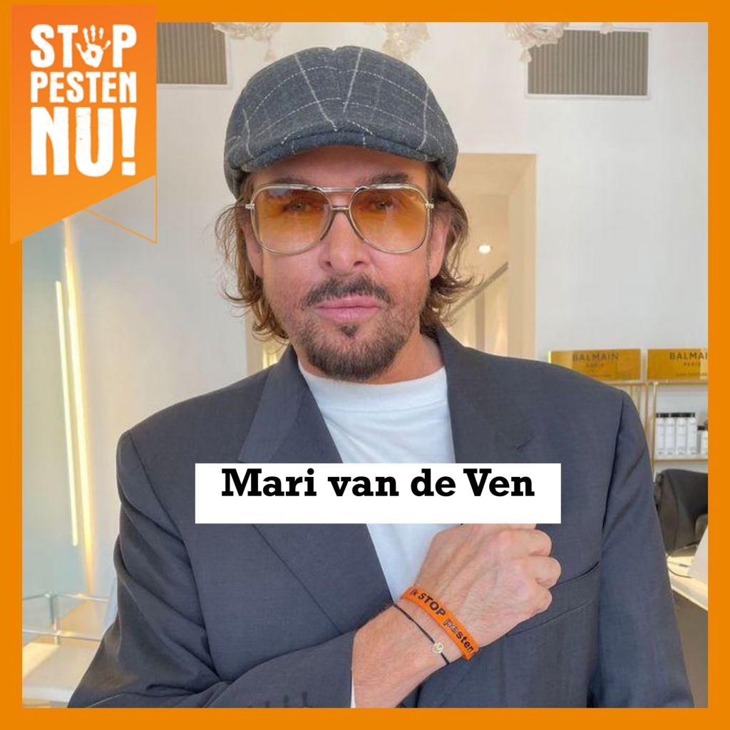 Mari van de Ven zegt: Ik STOP pesten nu!
