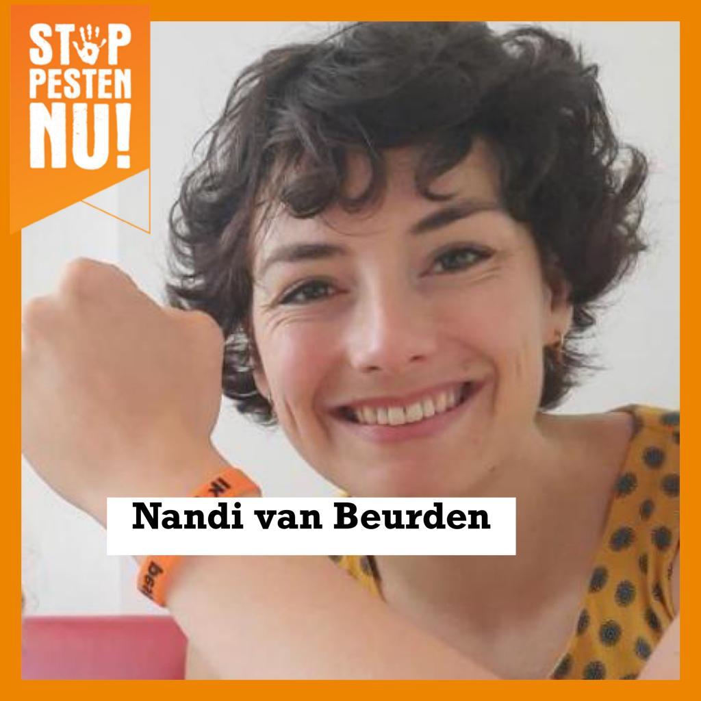 Nandi van Beurden zegt Ik STOP pesten nu!