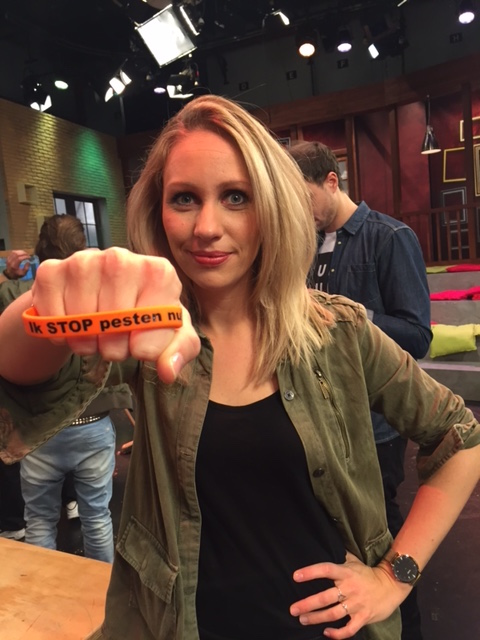 Saskia Weerstand zegt Stop Pesten Nu
