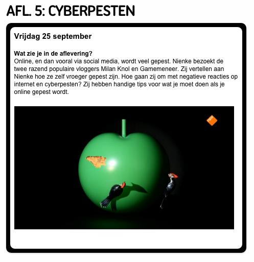 Het Klokhuis cyberpersten met Milan Knol en Don Game Meneer