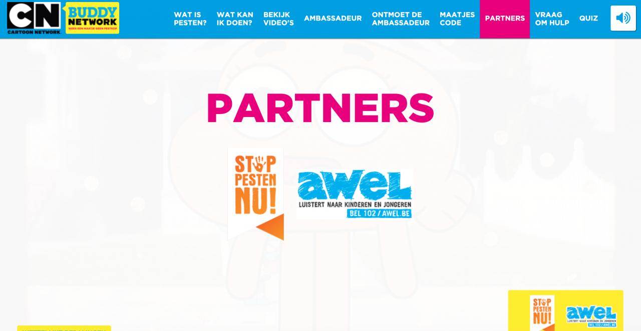 Partners Cartoon Network
