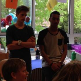 Stop Pesten Nu Mainstreet Basisscholen Workshop met Owen Playfair en Rein van Duivenboden