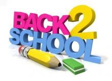 BACK2SCHOOL TELEFOON over pesten